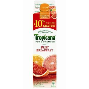 Jus de fruits Tropicana Ruby breakfast 1l