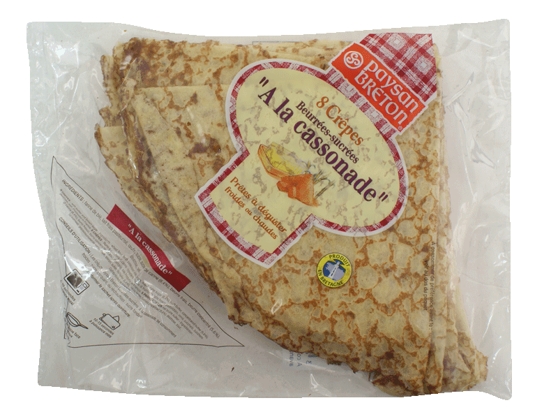 Crepes beurrees et sucrees Saveur Bretonne Even, 285g