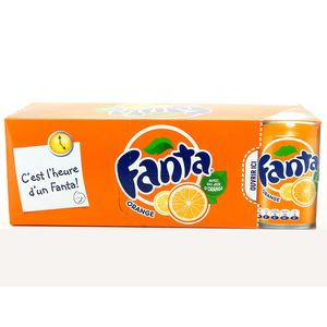 Fanta orange frigopack 10x33cl