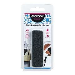 Ecozone Pan and Soleplate Cleaner - Non-Toxic -Removes all Burnt on Stains Also removes Rust, Revives Grout So...