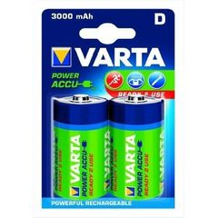 batterie rechargeable Varta Accu Ready2Use D Mono Ni-Mh (2-Pack, 3000 mAh)