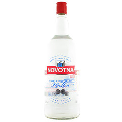 Vodka Novotna pure grain 37.5%vol. 1.5l