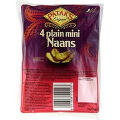 Mini Naans nature