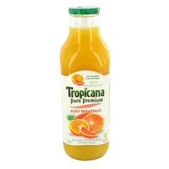 Jus Ruby BreakfastTROPICANA Pure Premium, 1l