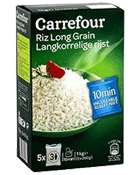 Riz long grain 10 min Carrefour