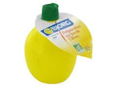 Preparation au jus de citron biologique, le flacon de 200ml