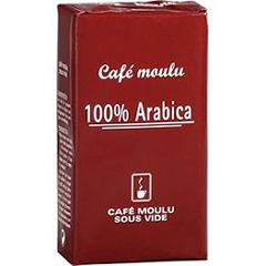 Cafe moulu 100% arabica
