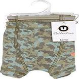 2 Boxers U COLLECTION, camouflage, taille 2/3 ans