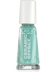 Layla Cosmetics Milano Céramique Effet Vernis à Ongles United State Of Green 10 ml