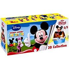 Oeufs surprises Mickey ClubHouse en chocolat au lait, 3 pieces