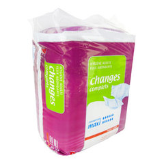 Auchan Hygiene adulte changes complets taille3 x14