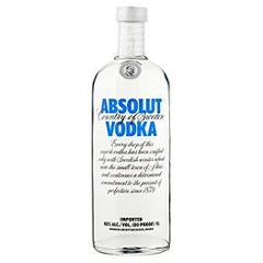 Absolut vodka 100cl 40% vol