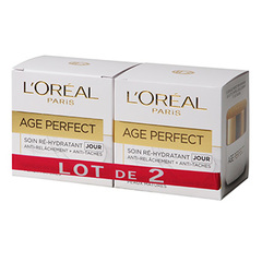 Soin nuit L'Oreal Age Perfect Collagen boost 2x50ml