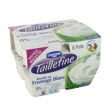 Fondant au fromage blanc nature Taillefine 0%
