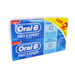 Oral B dentifrice pro expert multi 2x75ml