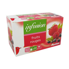 Infusion fruits rouge - 20 sachets