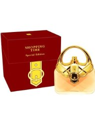 Parfums de France Shopping Time Gold Eau de parfum pour femme 100 ml
