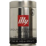 illy Dark Roast Filter Ground Coffee for Filter, Cafetiere and Drip Coffee 250 g (Pack of 2)