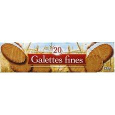 Galettes fines, 125g