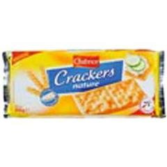 Crackers nature, les 10 sachets de 4 - 250g