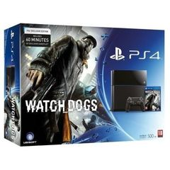 CONSOLE PS4 500GO + WATCHDOGS