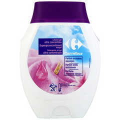 Lessive gel ultra concentree parfum orchidees sauvages