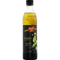 vinaigrette balsamique huile olive