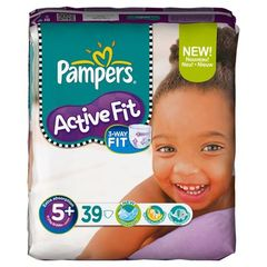 Pampers Active Fit geant junior + x39