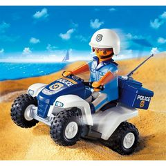 Playmobil city action collector policier quad 3655 4-10ans