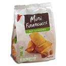 Auchan mini financiers aux amandes 210g