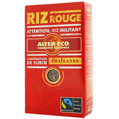 Riz rouge bio Alter Eco 500g