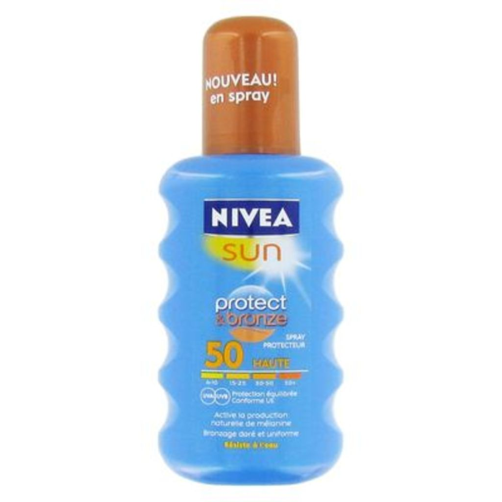Spray solaire Protect & Bronze SPF50 NIVEA SUN, 200ml