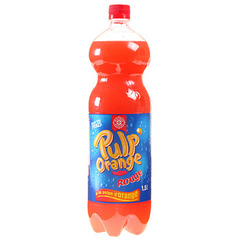 Leclerc Soda Pulp'Orange rouge 1.5l