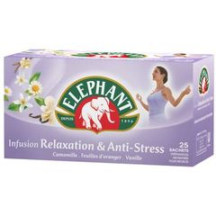 Lipton the infusion relaxation et anti-stress 25X39g