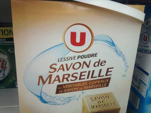 Lessive en poudre au savon de marseille u 54 doses 3 for Lessive en poudre ou liquide