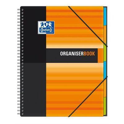Oxford cahier trieur organiser book petits carreaux 5x5 24x29 7cm le cahier a spirales de - Cahier oxford office book ...