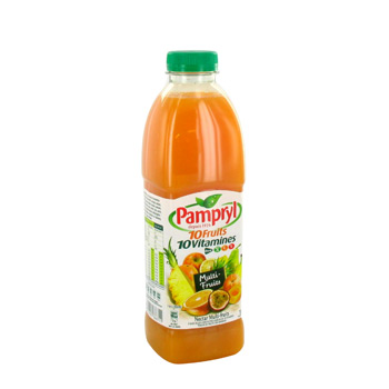 Pampryl cocktail 10 fruits 10 vitamines 1l