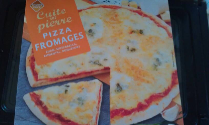 Pizza aux fromages 400g