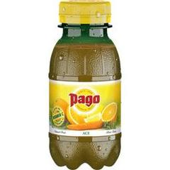 Pago jus d'orange carotte et citron 20cl