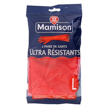 Gants Mamison ultra resistant Taille L 1 paire