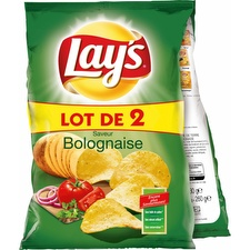Lay's chips bolognaise 2x130g