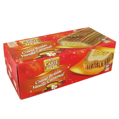 Buche glacee Carte D'Or Caramel vanille creme brulee 1l