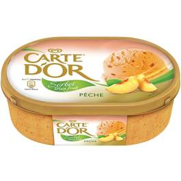 Sorbet Carte d'Or Pêche 1l