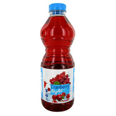 Auchan cranberry light 1l