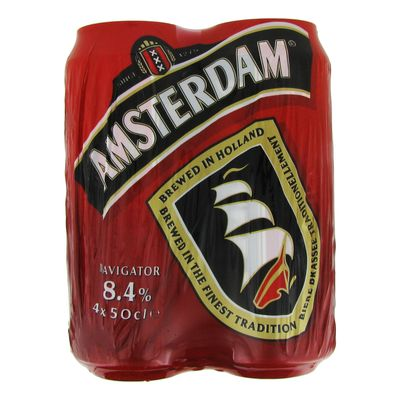 Biere Amsterdam Navigator Hollande nature 4x50cl