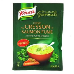 Knorr moments gourmets cresson saumon fume 75cl