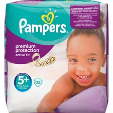 Couches taille 5 + : 13-27 kg Pampers
