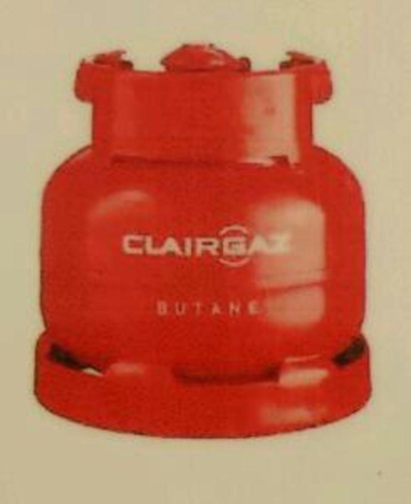 recharge de gaz clairgaz butane 6kg tous les produits chauffage allumage prixing. Black Bedroom Furniture Sets. Home Design Ideas