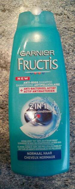 Shampooing 2/1 antipelliculaire Fructis flacon 250ml