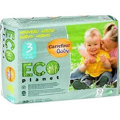 Couches Eco Planet, taille 3 : 4-9 kg